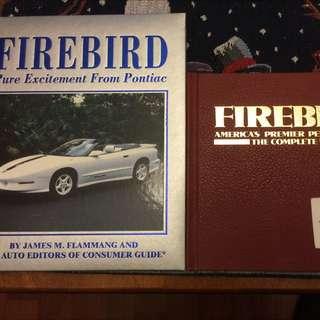 Pontiac Firebird Hard Cover Books - Brand New Condition