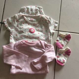 Girls Rompers Set