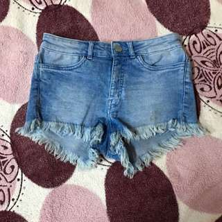 H&M Ripped Shorts