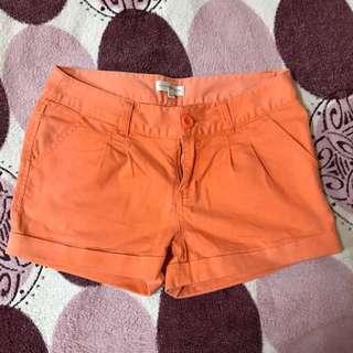 CACHE CACHE orange shorts