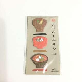 手帳裝飾 日本拉麵便利貼