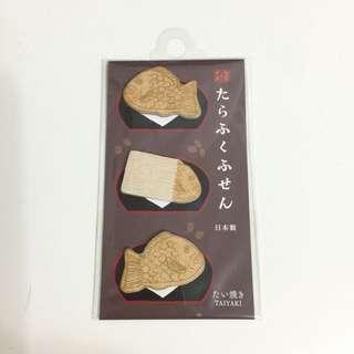 手帳裝飾 日本鯛魚燒便利貼