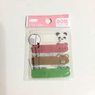 日本動物便利貼