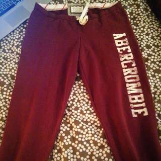 Abercrombie Cropped Sweats