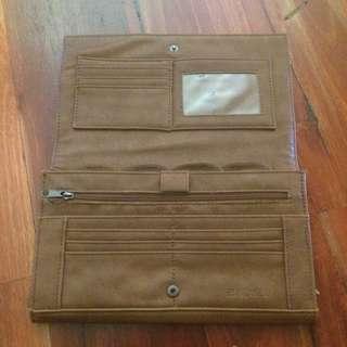 Brown Travel Wallet