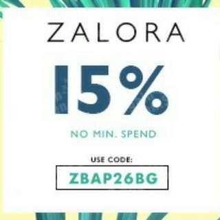 15% Off Storewide, No Minimum Spend