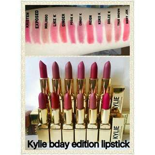 KYLIE COLOR GOLD EXPOSED MATTE LIPSTICK