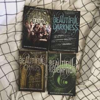 Complete Set- Beautiful Creatures novels