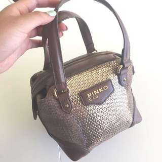 PINKO New 2-Style Brown Bag