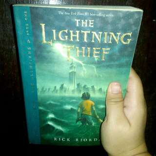 Percy Jackson: The Lightning Thief Trade Paper Back by: Rick Riordan