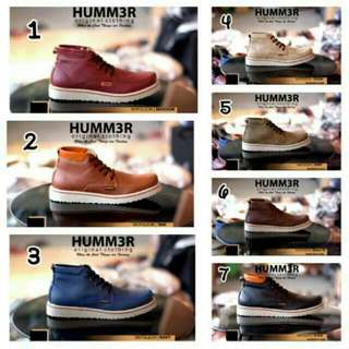 Sepatu Boots Safety Hummer/hummer Boots Safety