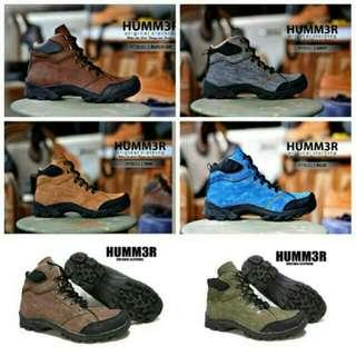 Sepatu Boots Safety Hummer/hummer Boots/sepatu Boot/sepatu Formal/sepatu Pria