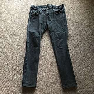 Sass and Bide Black Skinny Jeans Size 30