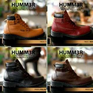 Sepatu Boots Safety Hummer/hummer Boots/sepatu Boots/sepatu Formal/sepatu PDL