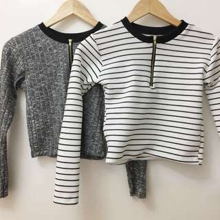 Zipper Longsleeves