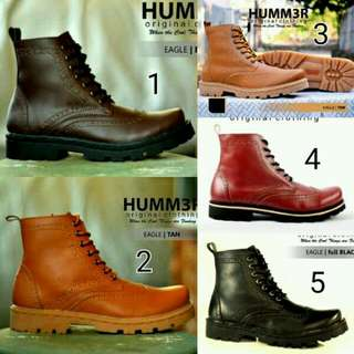 Sepatu Boots Safety Hummer/boots/boots Pria/boots Safety