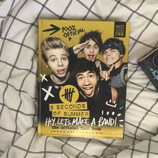5SOS OFFICIAL BOOK Hey, Let's make a band!