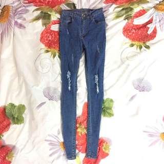 High-waisted Jean