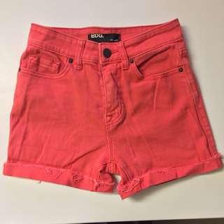 BDG High Rise Denim Shorts