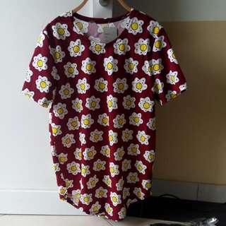 Dress Flower Red