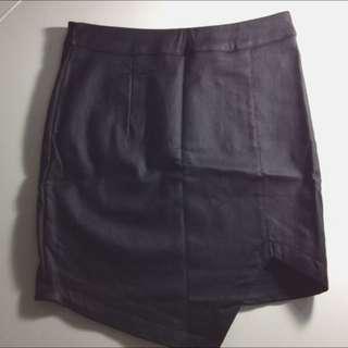 Leather Bodycon Skirt