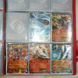 Pokemon TCG - EX NFA Cards