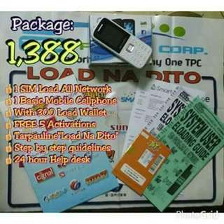 Eloading Sim Card(1 Sim Can Load To All Networks SMART,GLOBE ,SUN,GSAT,ABS-CBN MOBILE,CIGNAL Etc.)