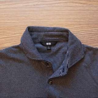 Uniqlo 線條polo衫