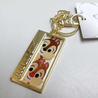 日本迪士尼 Chip and Dale 鎖匙扣