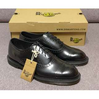 🚚 【現貨】Dr. Martens Morris Brogue 馬汀 雕花鞋 男款 黑色 AW15