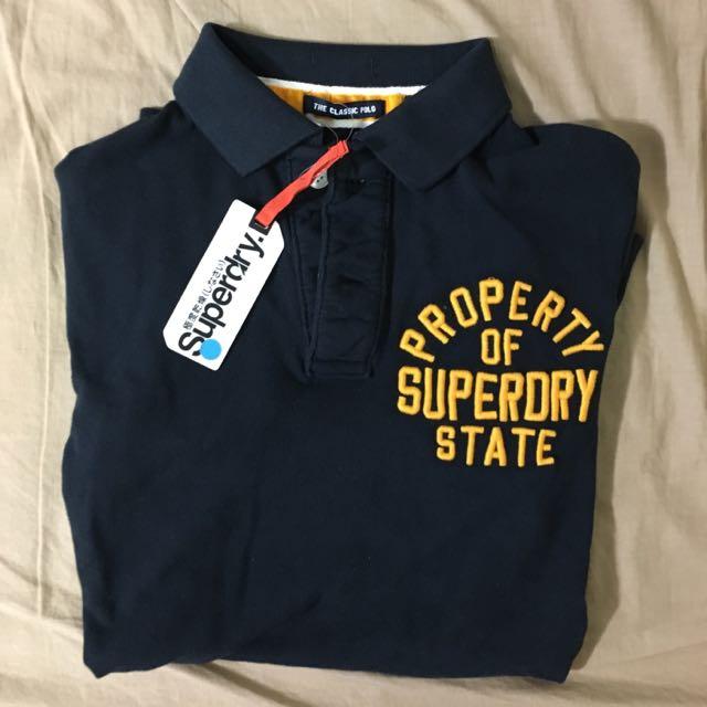 [特價2200元]SuperDry 經典polo衫 短袖(M號)