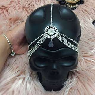 Chain Drape Head Harness