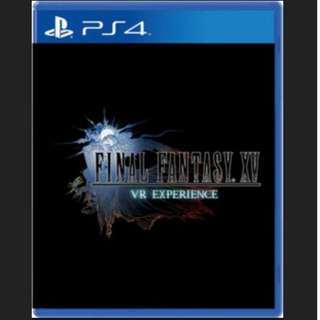 Final Fantasy XV VR ( PS4 Pro/PS4 )