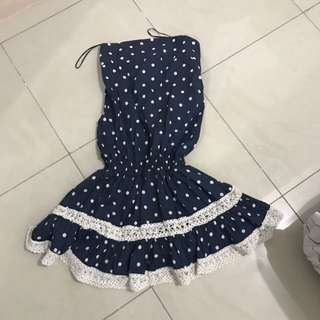 Colorbox Polkadot Mini Dress