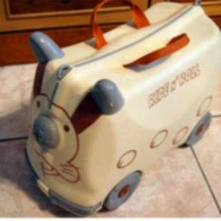 俏皮兔滑輪行李箱