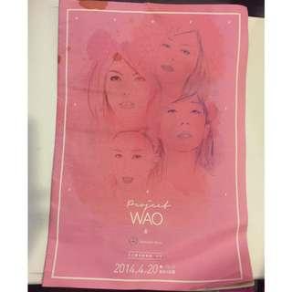 Project WAO女生團結音樂節元年場刊