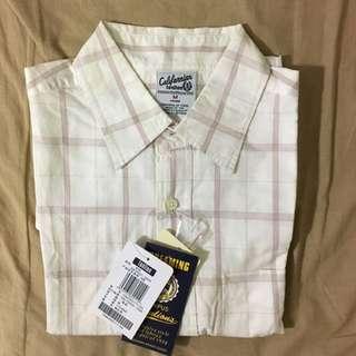 [特價400元]Tonlion格紋短袖衫(M號)