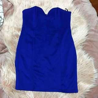 Supre Blue Tube Dress
