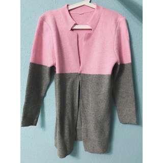Woollen Winter Coat/ Cardigan