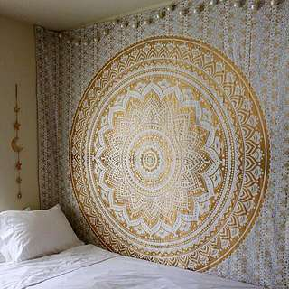 [INCLUDE POSTAGE] Large Mandala Tapestry Wall Hanging