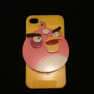 iPhone 4/4s angry bird mirror case