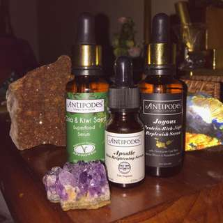 Antipodes Facial Bundle Organic Natural Health Skin Care Skin Brightener Superfood
