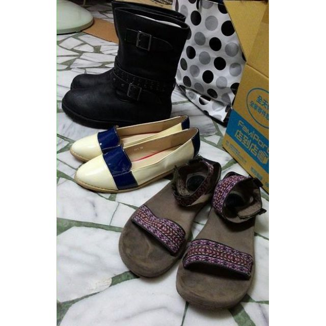 各類美鞋~(3雙$1200含運)