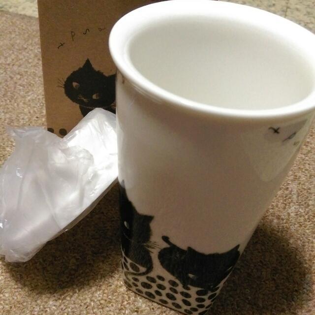 全新加藤真治雙層陶瓷杯👍