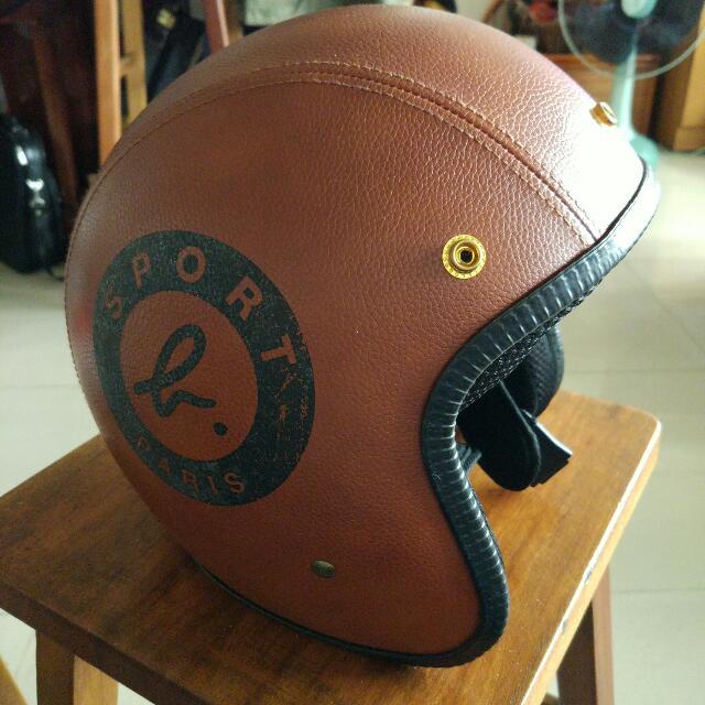 [二手] ((保留))Sport b 皮質安全帽