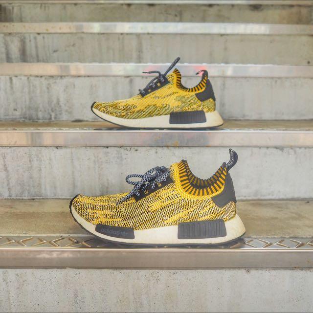 Adidas NMD Yellow Camo US 8.5