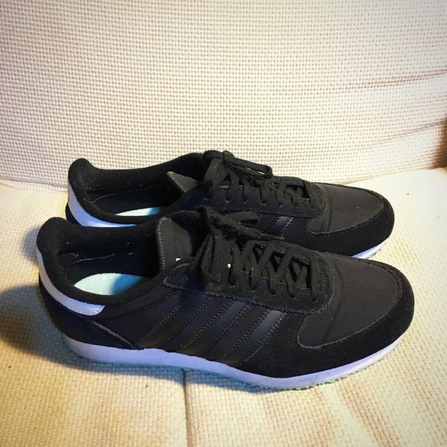 Adidias/慢跑鞋/黑/ZX RACER