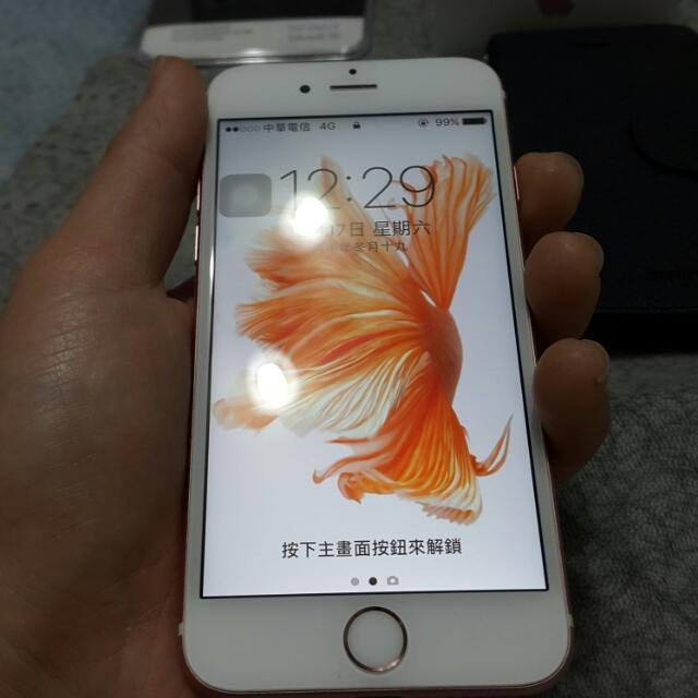 Apple iphone 6s 64g 玫瑰金 符合原廠電池召回方案