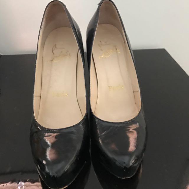 Authentic Patent Leather Pump Shoes