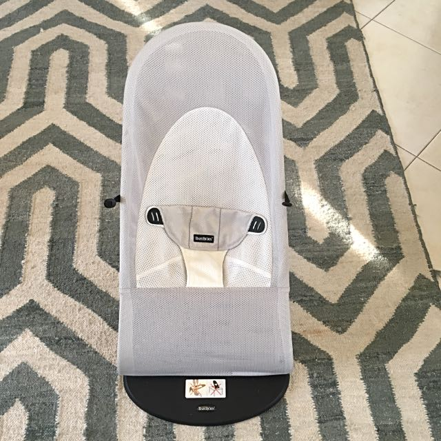 Baby Bjorn Bouncer - White/Silver